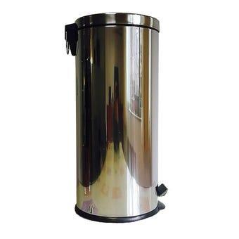 Queen Bin Pedal Stainless Steel 30L