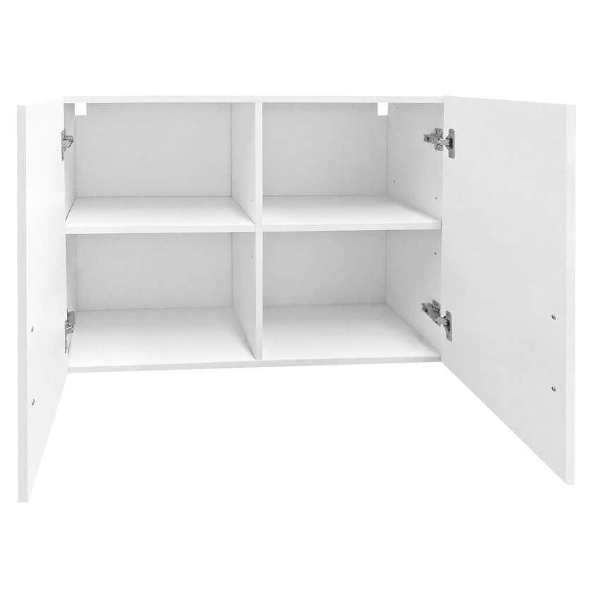 Faulkner 2 Door 4 Shelf Overhead Unit 900mm