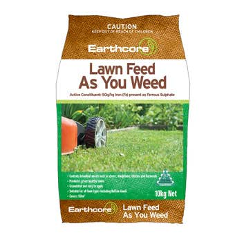 Earthcore Lawn Feed As You Weed 10kg