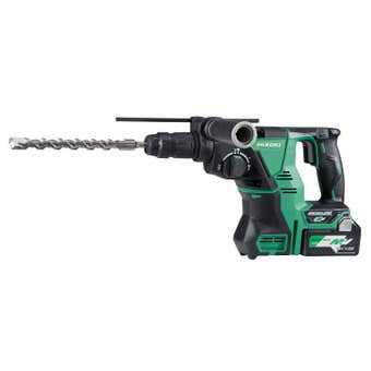 HiKOKI 36V Brushless SDS Plus Rotary Hammer Drill Kit