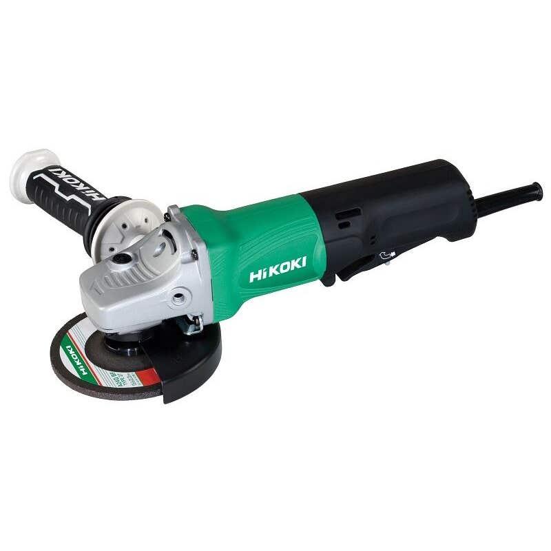 HiKOKI 1430W Angle Grinder with Paddle Switch 125mm