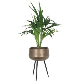 Takasho Planter Bowl on Legs Moroccan