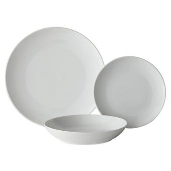 Coupe Porcelain 18 Piece Dinner Set