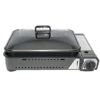 Butane Grill Stove With Pan