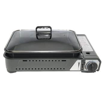 Butane Grill Stove With Pan