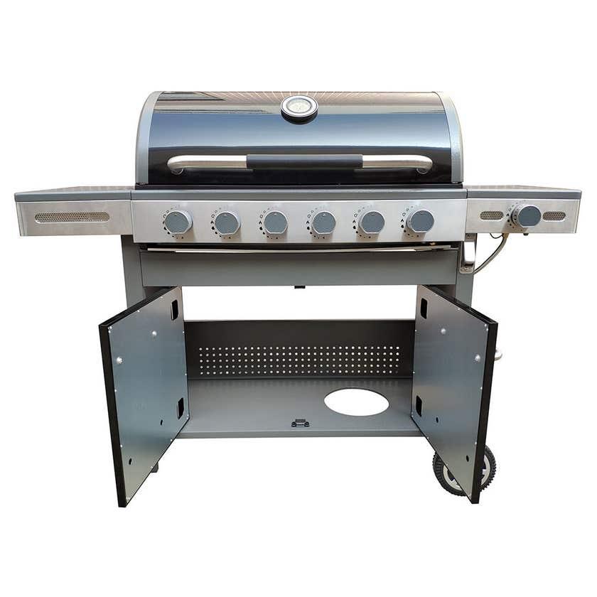 Grilled Viking 6 Burner Hooded BBQ