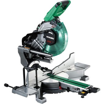 HiKOKI 36V Brushless Slide Compound Mitre Saw Kit C3610DRA(HAZ)