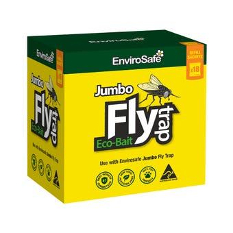 EnviroSafe Jumbo Fly Attractant - 18 Pack