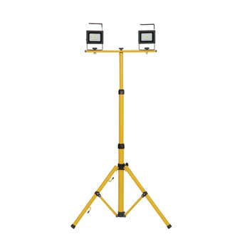 Mirabella LED Rechargeable Tripod Worklight 2 x 10W