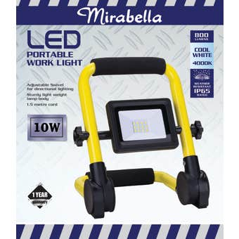 Mirabella Portable LED Worklight 10W
