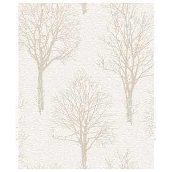 Boutique Wallpaper Landscape Ivory 10m x 520mm