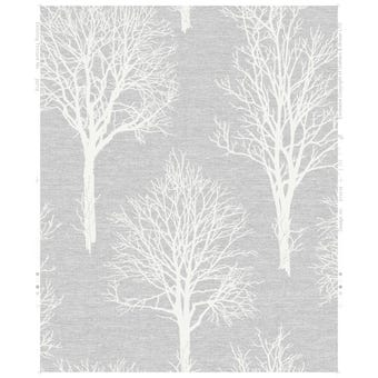 Boutique Landscape Wallpaper Dove Grey 10m x 52cm