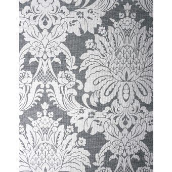 Boutique Wallpaper Vogue Charcoal 10m x 520mm