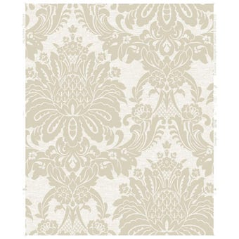 Boutique Wallpaper Vogue Ivory 10m x 520mm