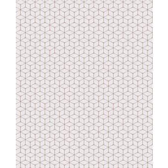 Superfresco Easy Wallpaper Nelio Grey & Rose Gold 10m x 520mm