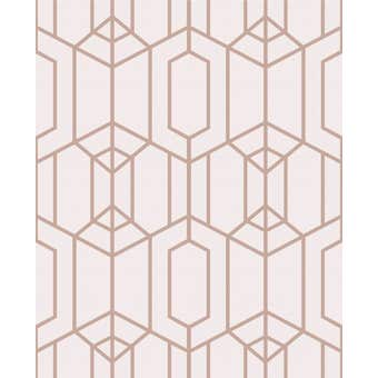 Superfresco Easy Wallpaper Albany Pink 10m x 52cm