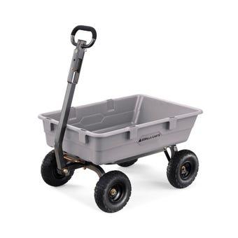 Gorilla Carts™ Poly Yard Cart 360kg