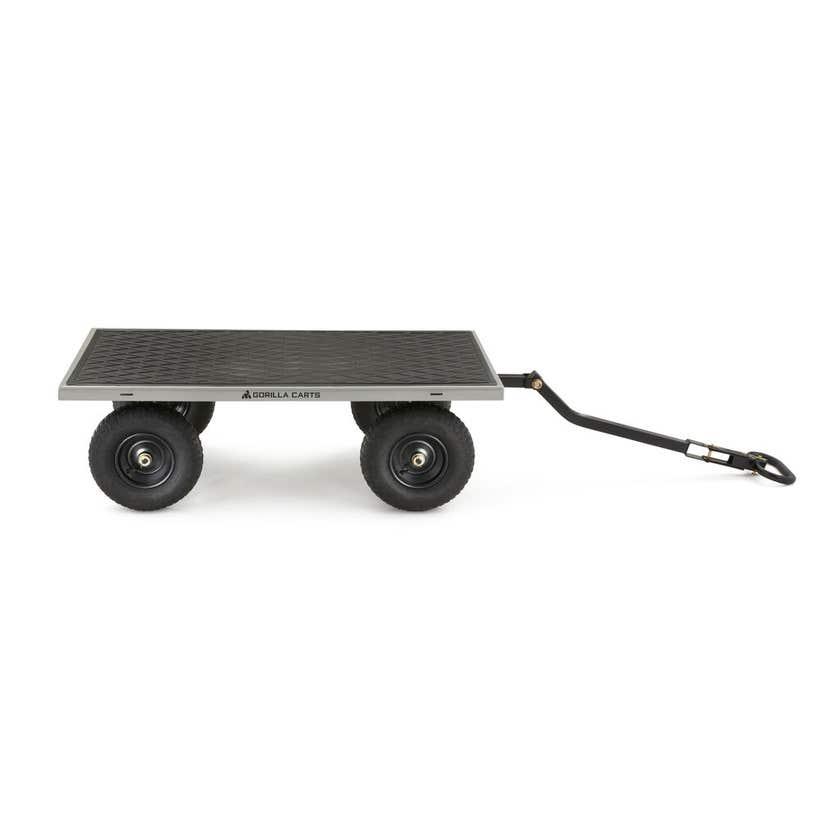 Gorilla Carts Steel Mesh Garden Cart 450kg