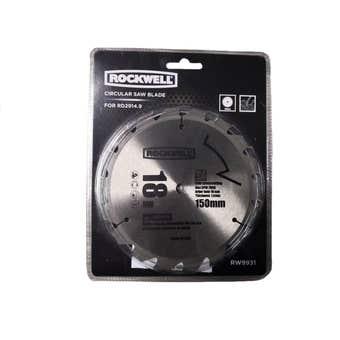 Rockwell Circular Saw Blade 150mm