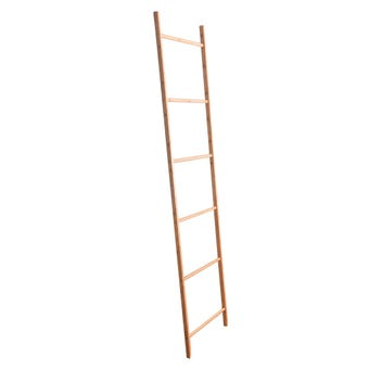 Bamboo Decorative Wall Ladder