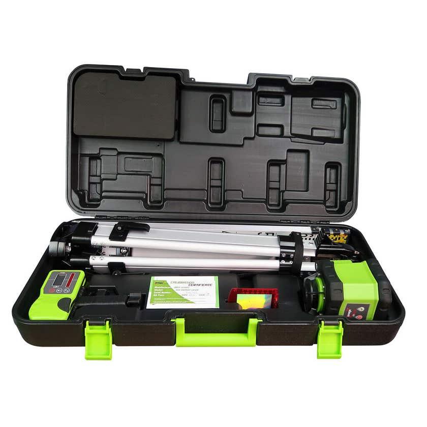 Imex Rotary Laser Kit with Tripod & Staff
