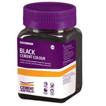 Cement Australia Oxide Colouring Black 300g
