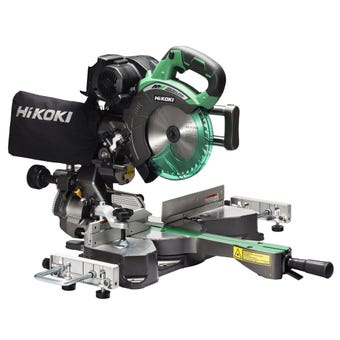 HiKOKI 36V Brushless Compound Mitre Slide Saw 185mm Skin