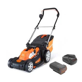 "Yard Force 40V Lawn Mower Kit 16"""