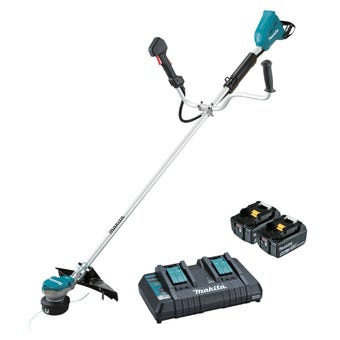 Makita 36V (18V x 2) Brushless U Handle Line Trimmer Kit DUR368APT2