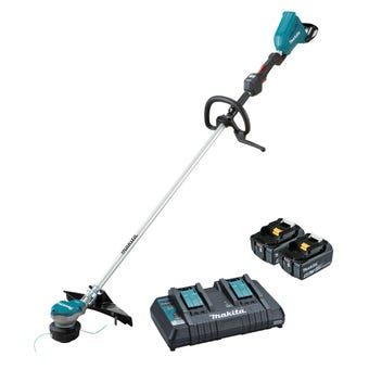 Makita 36V (18V x 2) Brushless Loop Handle Line Trimmer Kit DUR368LPT2
