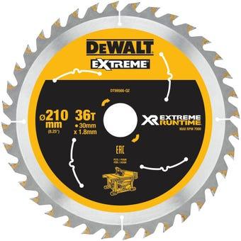 DeWALT Extreme Circular Saw Blade RT 36T 210mm