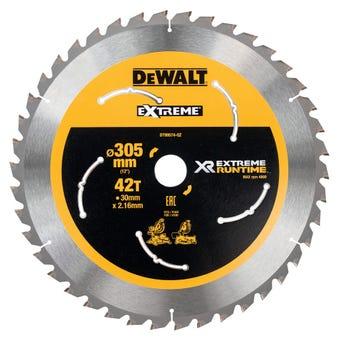 DeWALT Extreme Runtime Circular Saw Blade 42T 305mm