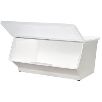 Storage Container White 46L