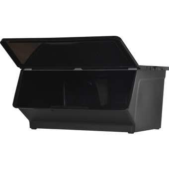 Storage Container Black 46L
