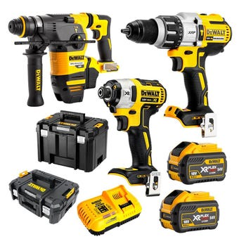 DeWALT FlexVolt Cordless Brushless Kit - 3 Piece DCZ333X2T-XE