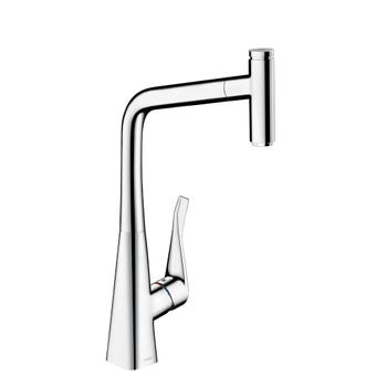 Hansgrohe Metris Select 320 Pull Out Mixer