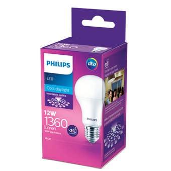 Philips LED Globe ES 12W (98W) 1360lm A60 Cool Daylight