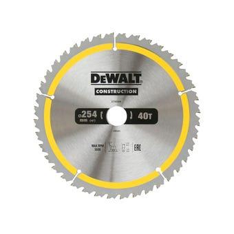 DeWALT Construction Circular Saw Blade 40T 254mm