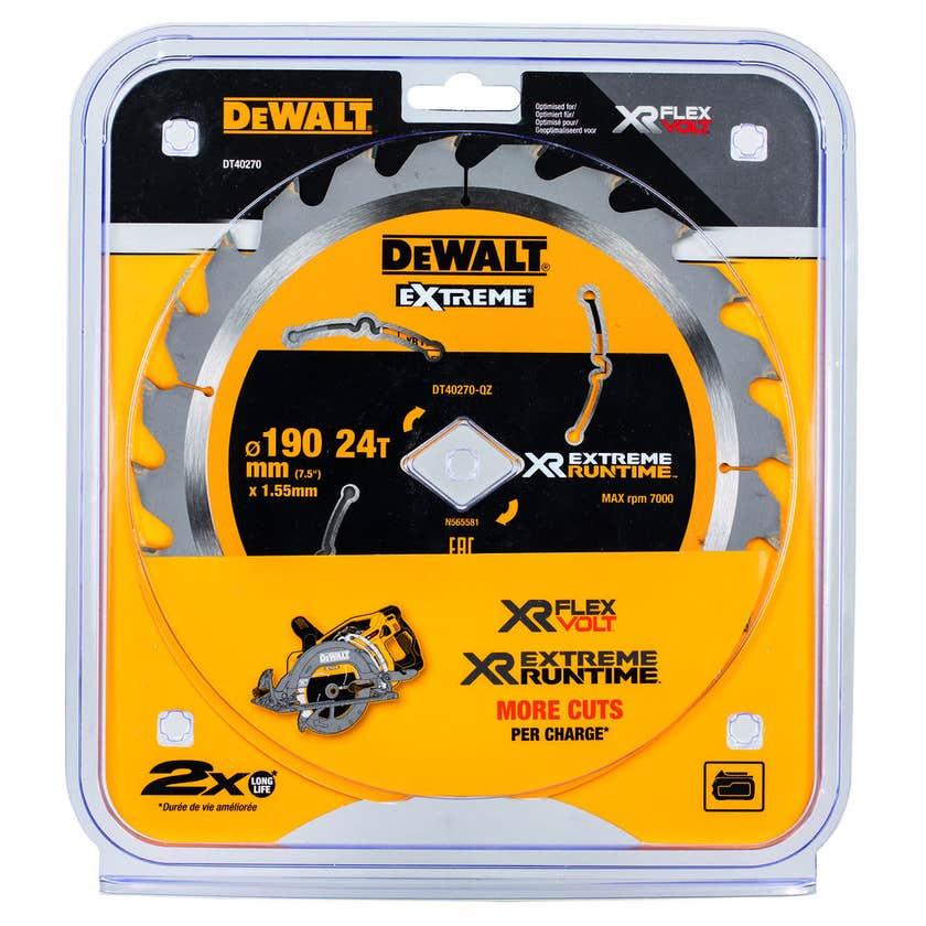 DeWALT Extreme Runtime Circular Saw Blade