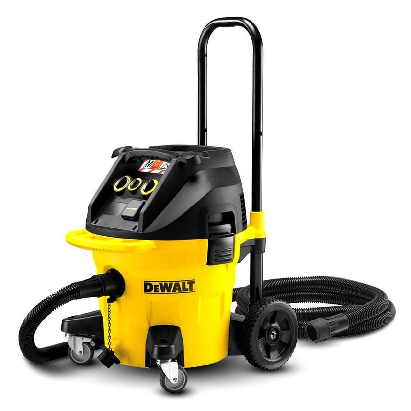 DeWALT 1400W 38L M Class Vacuum Cleaner Dust Extractor
