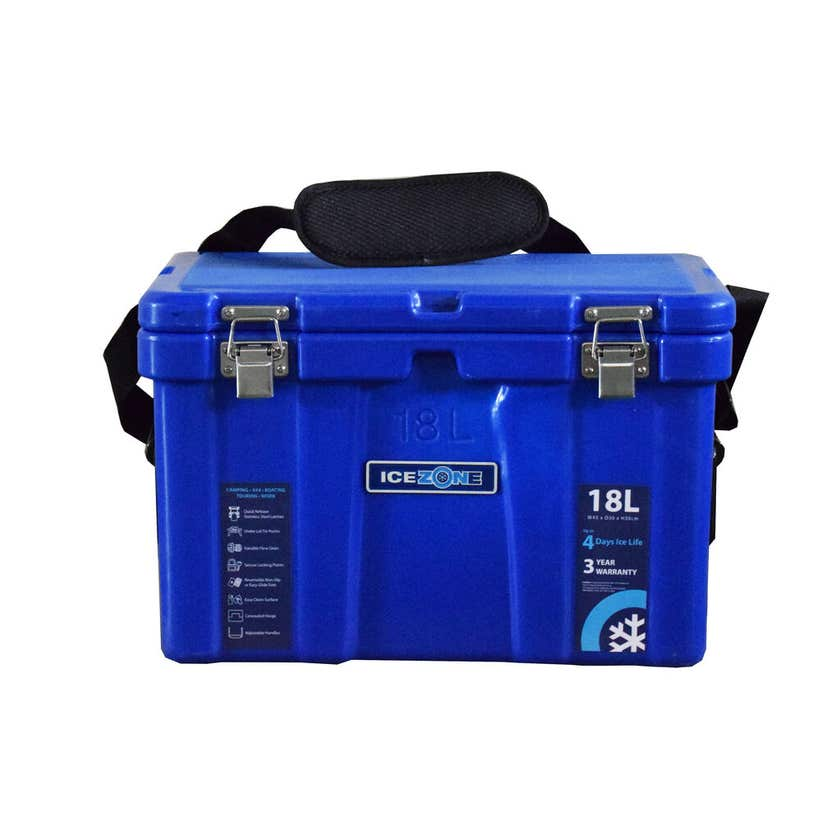 Icezone Performance Cooler Blue 18L