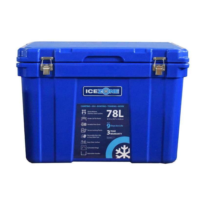 Icezone Performance Cooler Blue 78L