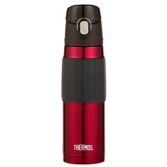 Thermos® Stainless Steel Vacuum Insulated Hydration Bottle - Red