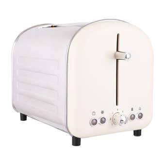Retro 2 Slice Toaster White