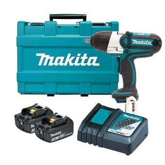 Makita 18V 3.0Ah Impact Wrench Kit DTW450RFE