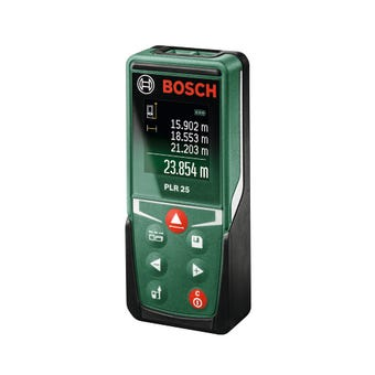 Bosch Digital Laser Distance Measure PLR 25