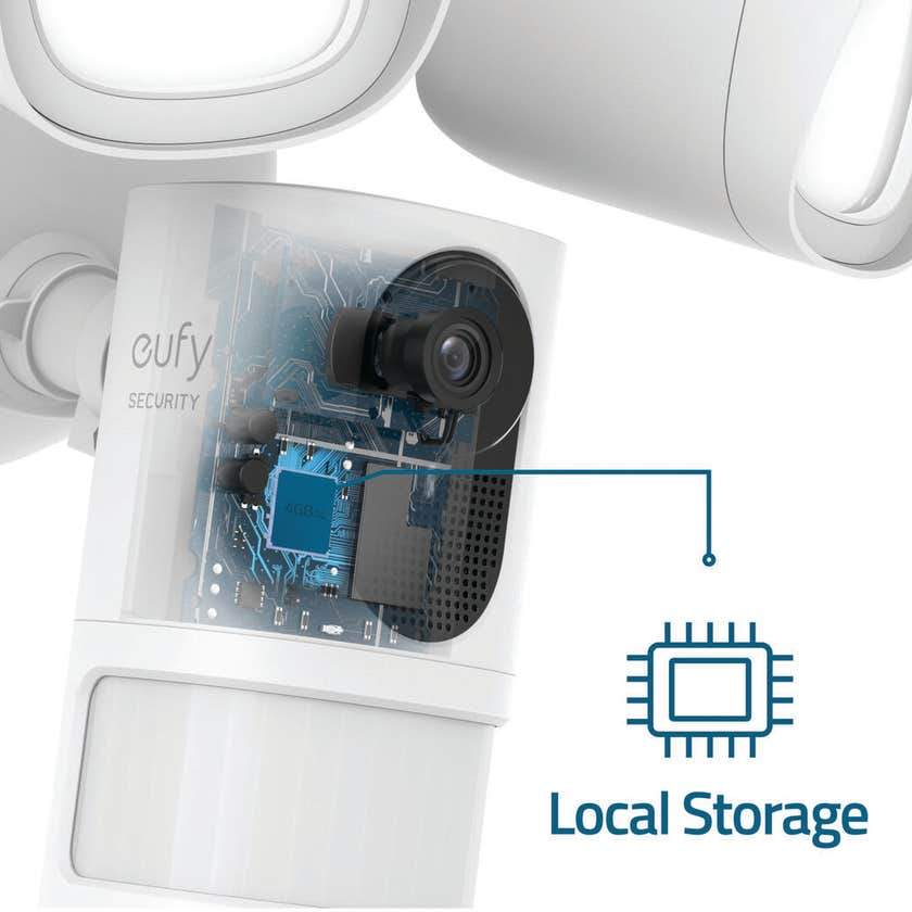Eufy Security Camera Set withEufy Smart Floodlight