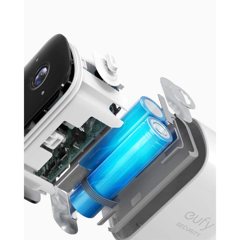 Eufy 4 Security Camera Set With Security Sensor Bundle