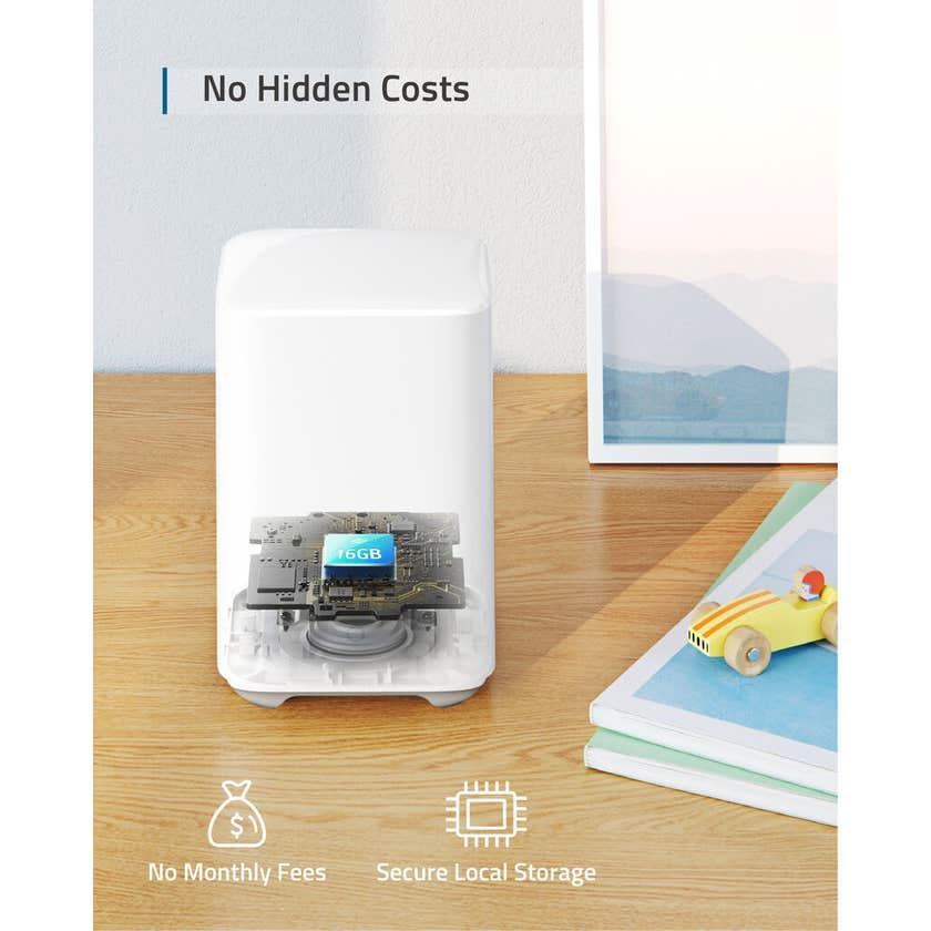 Eufy 1080p 2C Wireless Security Camera & Homebase Kit 3 Camera