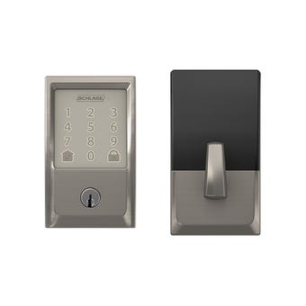 Schlage Encode Satin Nickel